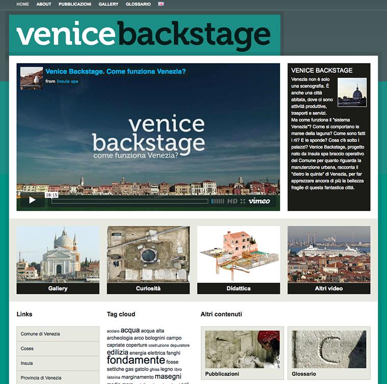 venice backstage